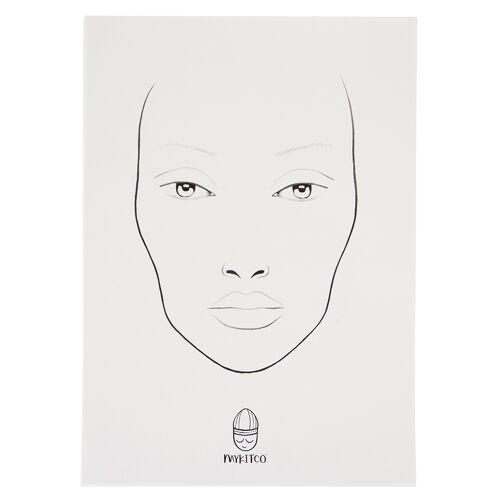 MYKITCO. MY FACE by MYKITCO. Face Charts 15Stück