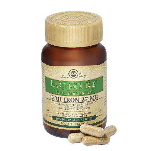Solgar Earth Source Food Fermented Koji Iron 27 mg 30Kappen
