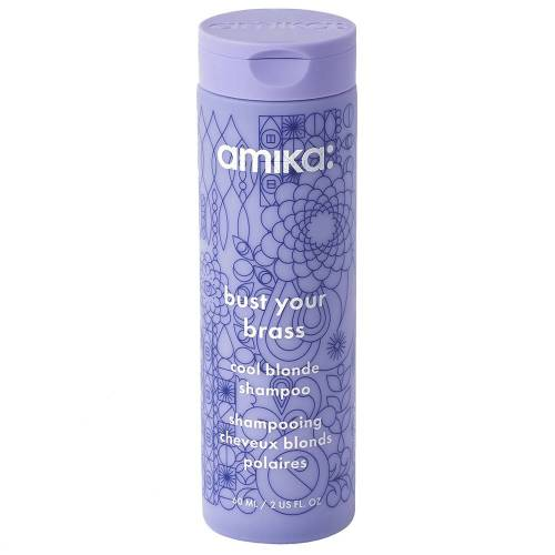 amika Bust Your Brass Cool Blonde Shampoo Bust Your Brass Cool Blonde Shampoo 60ml