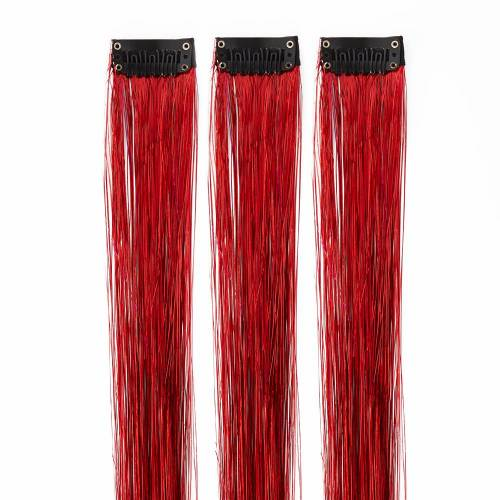 The Gypsy Shrine Tinsel Hair  Red