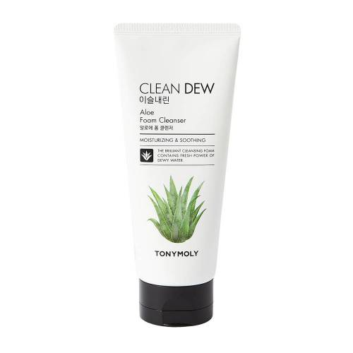 TONYMOLY Clean Dew Aloe Foam Cleanser 180ml