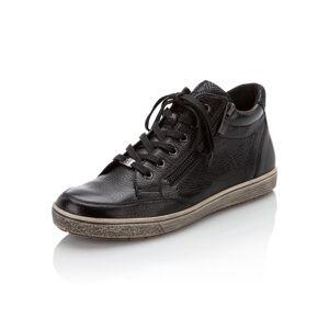 Caprice Sneaker aus Hirschleder schwarz female 36