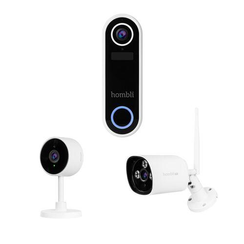 Hombli Doorbell Video-Türklingel + Innenkamera + Außenkamera