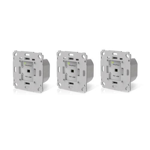 innogy SmartHome Unterputz-Rollladensteuerung 3er-Pack