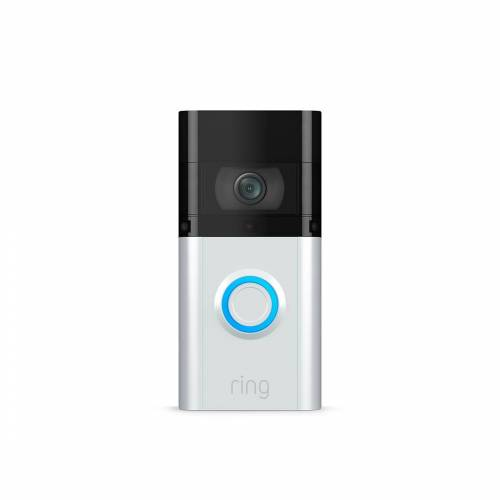 Ring Video Doorbell 3 Plus - Video Türklingel - Silber