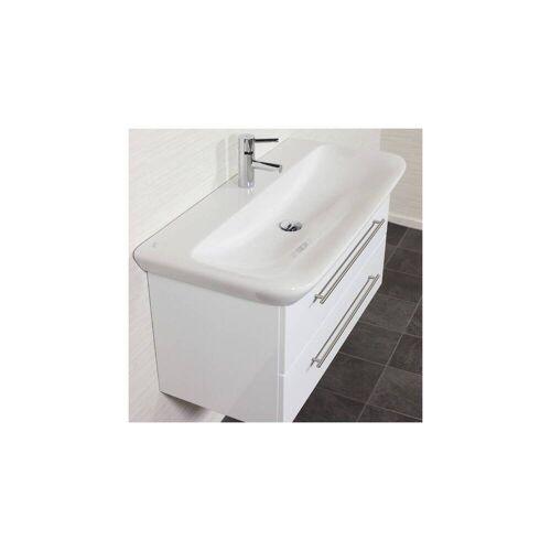 Waschtisch KERAMAG MyDay Hochglanz weiß 100 x 45 x 48 cm