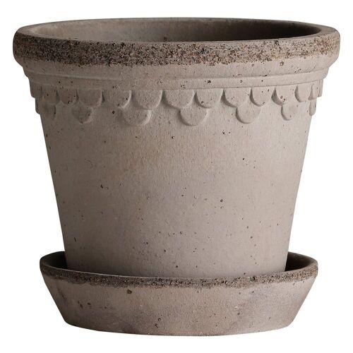 Bergs Potter Kopenhagen Blumentopf 35cm grau