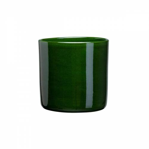 Bergs Potter Romeo Blumentopf glasiert Ø11cm grün