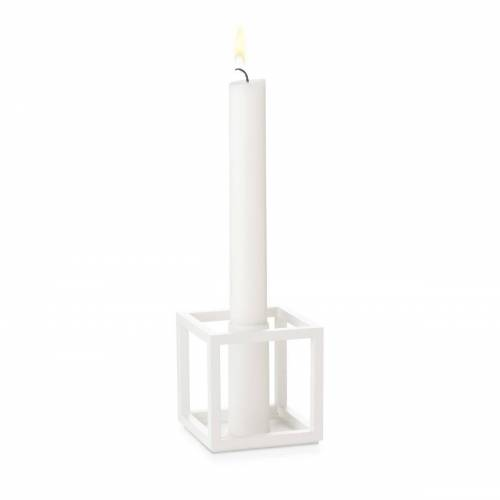 By Lassen Kubus 1 Kerzenhalter weiß