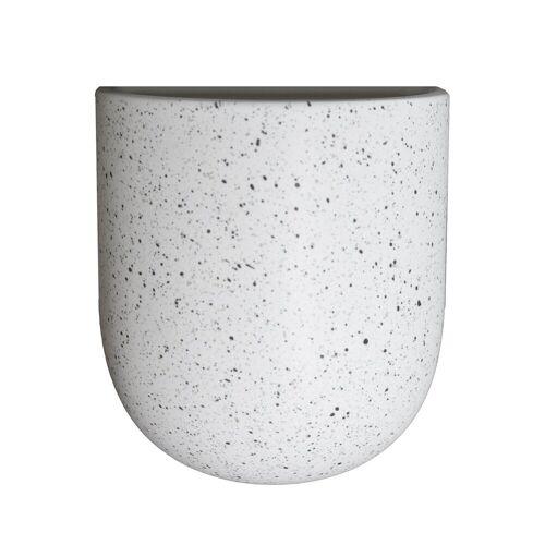 DBKD Cut Wand-Blumentopf white dot Large