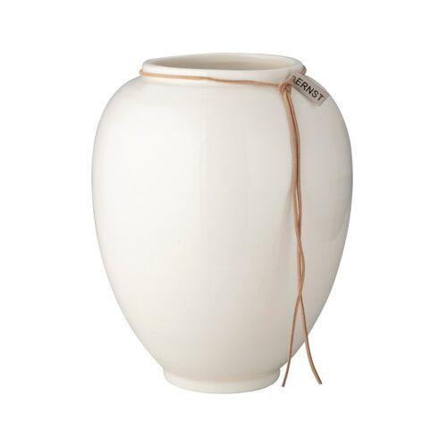 Ernst Vase weiß glasiert 22cm