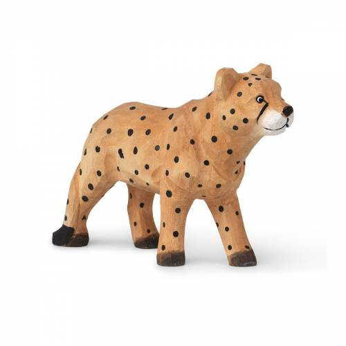 Ferm Living Animal Holzdekoration Cheetah