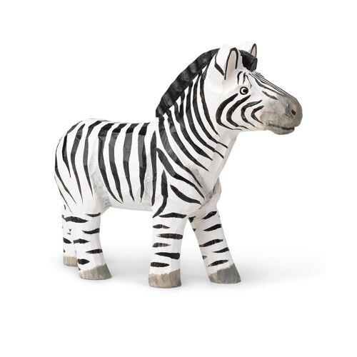 Ferm Living Animal Holzdekoration Zebra