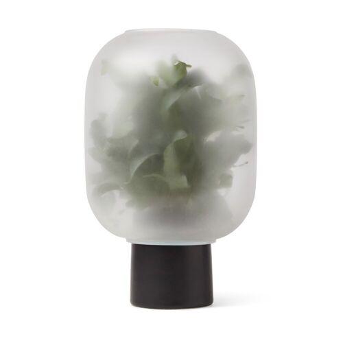 Gejst Nebl Blumentopf mit Milchglas groß Ø25cm Schwarz
