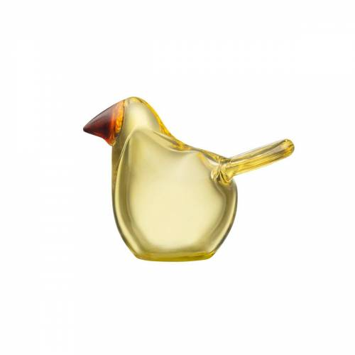 Iittala Birds by Toikka Fliegenschnäpper Zitronenkupfer