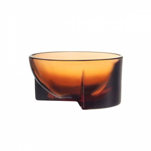 Iittala Kuru Glasschale 6 x 13cm Pomerans