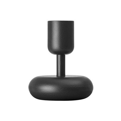 Iittala Nappula Kerzenhalter dunkelgrau klein 107mm