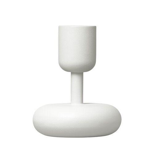 Iittala Nappula Kerzenständer weiß klein 107mm
