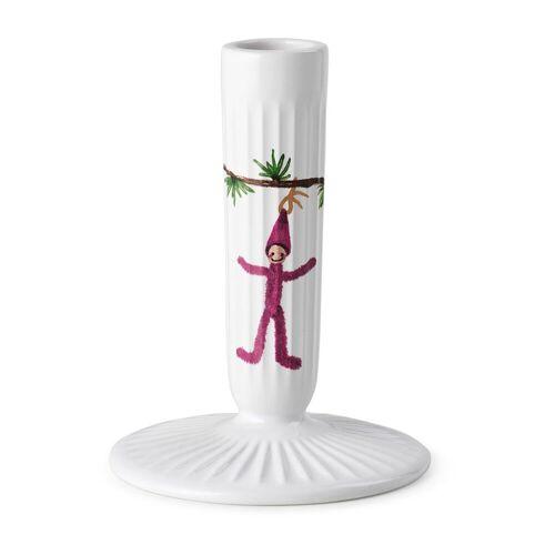 Kähler Hammershøi Christmas Kerzenhalter weiß 12cm