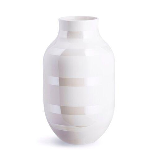 Kähler Omaggio Vase perlmutt groß ( 30,5cm)