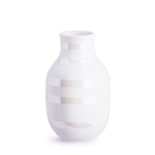 Kähler Omaggio Vase perlmutt klein (12,0cm)