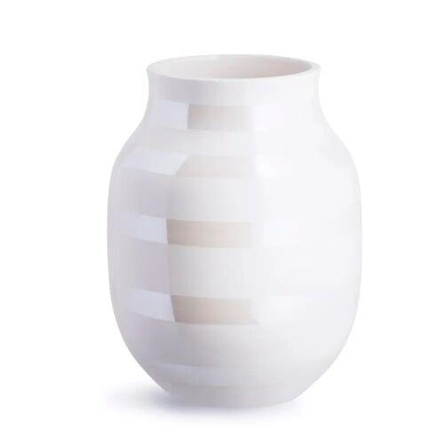 Kähler Omaggio Vase perlmutt mittel (20,0cm)