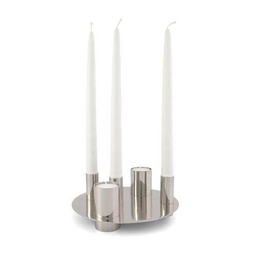 KLONG Awa Kerzenhalter Nickel