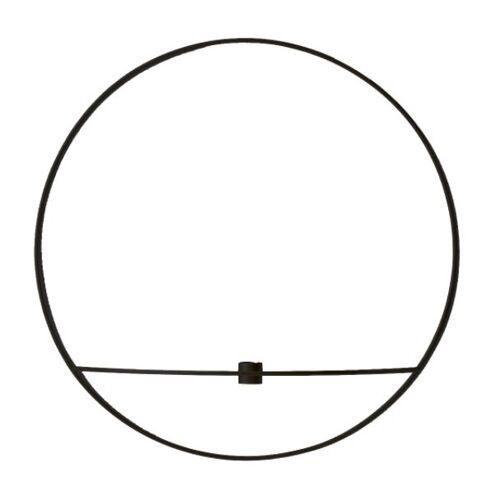 Menu POV Circle Kerzenhalter L Schwarz
