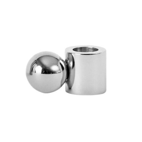 OYOY Palloa Kerzenhalter klein Silver