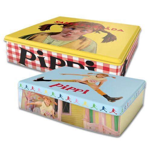 Pluto Pippi Blechdose 2er Pack multi