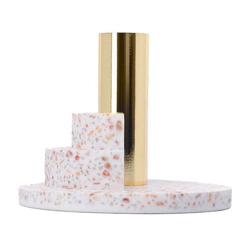 Puik Ply Kerzenhalter 8,4cm weiß