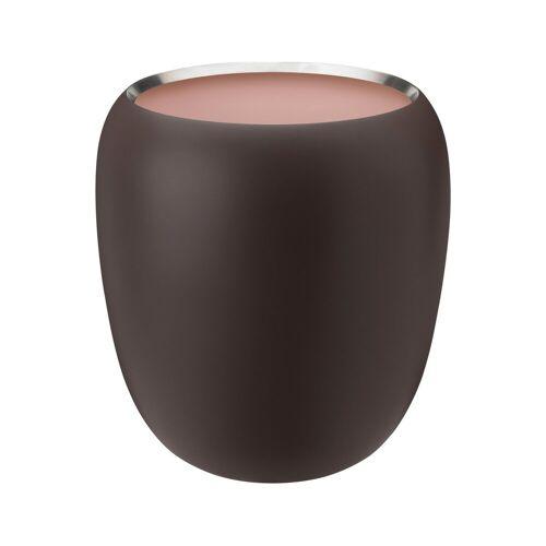 Stelton Ora Vase 20cm Dark powder-powder