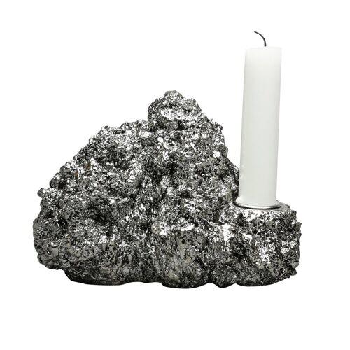 By On Kerzenhalter mineral grau