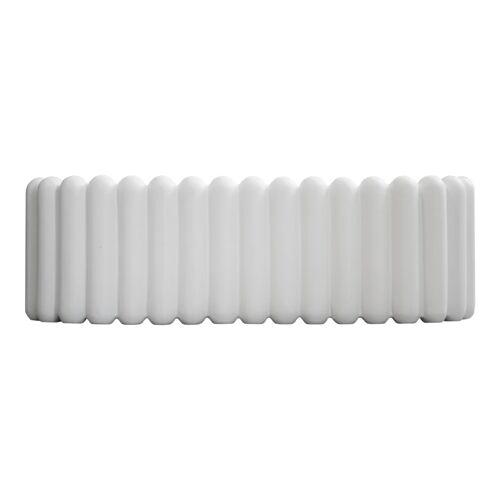 DBKD Mist Blumentopf oval White
