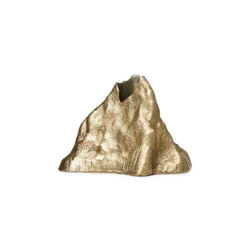 Ferm Living Stone Kerzenhalter 6,8cm Messing