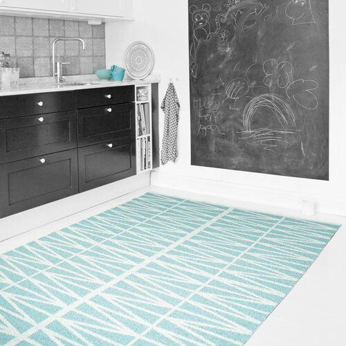 Brita Sweden Helmi türkiser Teppich 70 x 250cm