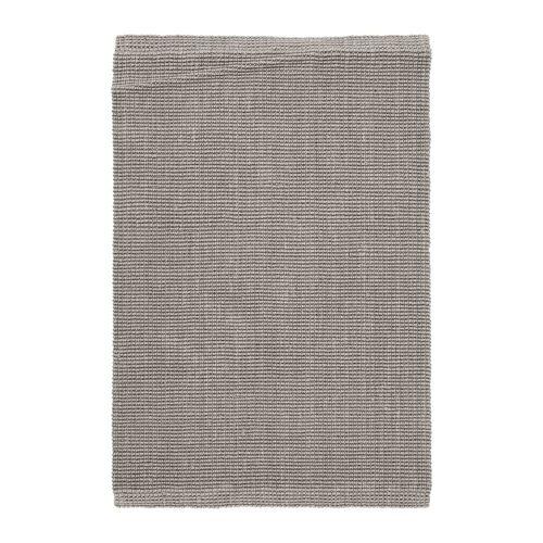 Dixie Fiona Jute-Teppich grau 60 x 90cm