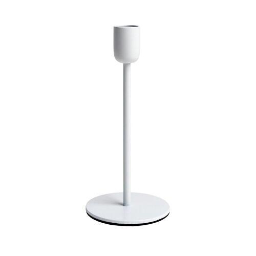 Scandi Living Arctic Kerzenhalter 18cm weiß