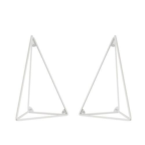 Maze Pythagoras Konsole 2er Pack weiß