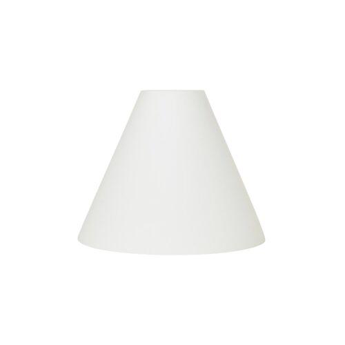 Broste Copenhagen Gine Lampenschirm Opalglas Ø27cm weiß