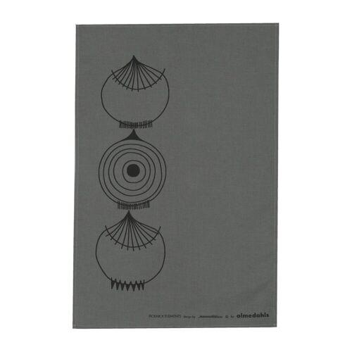 Almedahls Picknick Elements Geschirrtuch 47 x 70cm grau