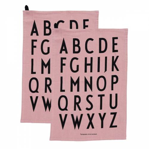 Design Letters Geschirrtuch 40 x 60cm 2er Pack Lavendel