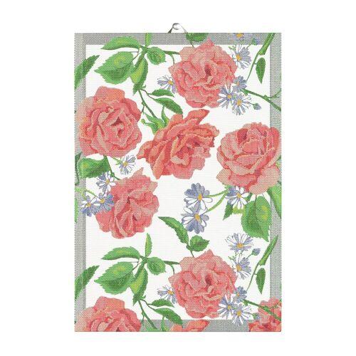 Ekelund Linneväveri Rosy Geschirrtuch 35 x 50cm Rosa