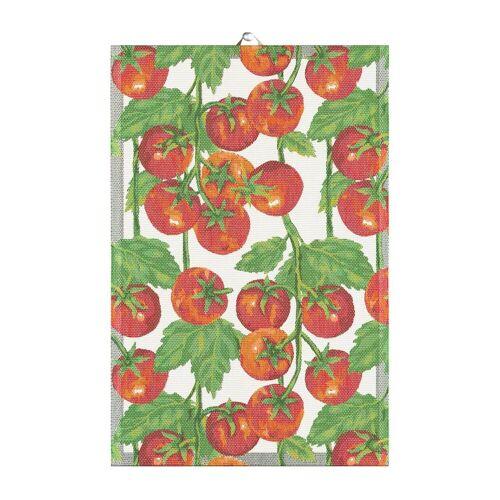 Ekelund Linneväveri Tomaten Geschirrtuch 40 x 60cm rot