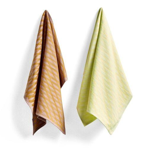 Hay Tea Towel Marker diamond Geschirrtuch 2er Pack No 1