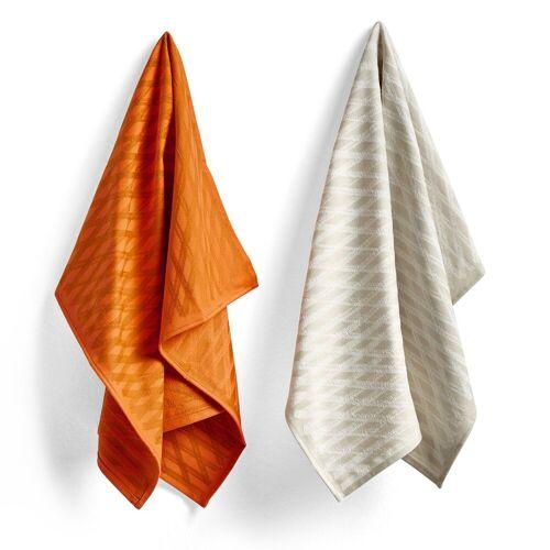 Hay Tea Towel Marker diamond Geschirrtuch 2er Pack No 2