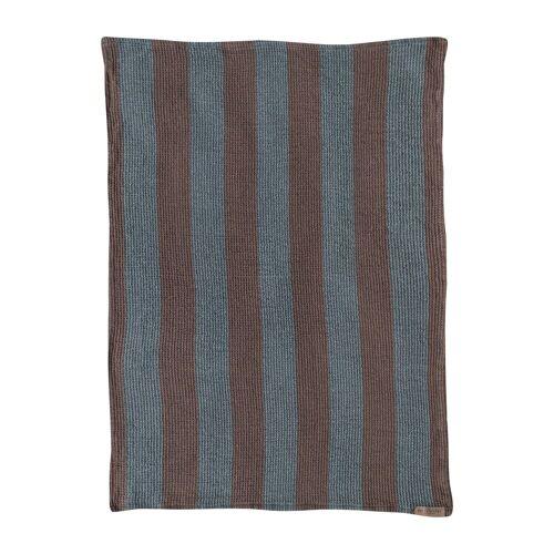 Mette Ditmer Elvira Geschirrtuch 50 x 70cm Slate blue