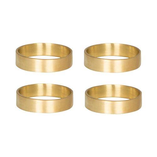 Broste Copenhagen Ring Serviettenring 6er Pack Messing matt