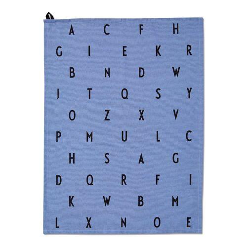 Design Letters AJ Vintage Geschirrtuch dusty blue (blau)