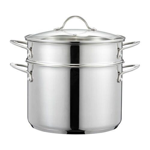 Dorre Kosmo Pastatopf mit Einsatz 7,6 L Edelstahl